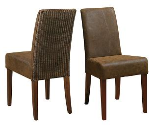 Sillas para comedores de estilo colonial comedor for Modelos de tapizados para sillas