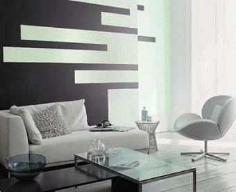 C mo decorar con tonos plata pintura decora ilumina - Como pintar paredes con humedad ...