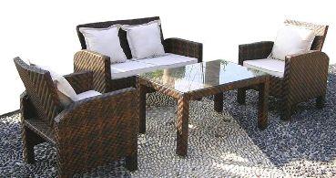 Muebles De Rattan Para El Jardín O La Terraza Jardin