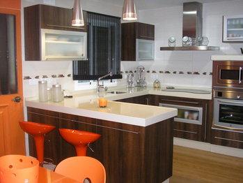 cocinas con barras cocina decora ilumina