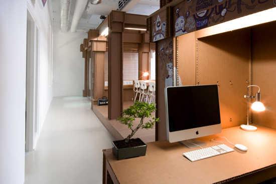 C mo crear una oficina con material reciclado oficina - Ideas para decorar con materiales reciclados ...