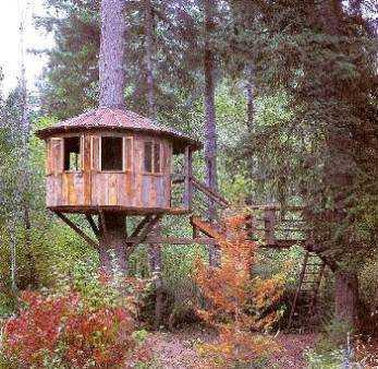 Modelos para construir la casa en el rbol infantil - Casas en arboles para ninos ...