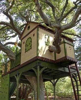 Modelos para construir la casa en el rbol infantil decora ilumina - Casa para jardin infantil ...