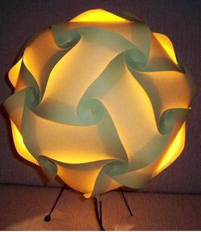 L mparas decorativas tendencias decora ilumina - Como hacer lamparas de techo artesanales ...