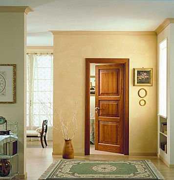 Puertas abatibles de madera maciza tendencias decora - Puerta abatible madera ...