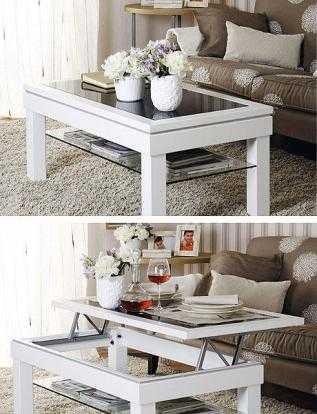 C mo ahorrar espacio muebles de doble uso muebles - Muebles doble uso ...