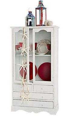 Los m ltiples usos de una vitrina muebles decora ilumina - Vitrinas para vajillas ...