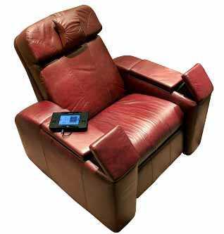 La comodidad de un sof reclinable muebles decora ilumina for Muebles la favorita