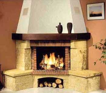Modelos de chimeneas r sticas sala decora ilumina - Decoracion de chimeneas modernas ...