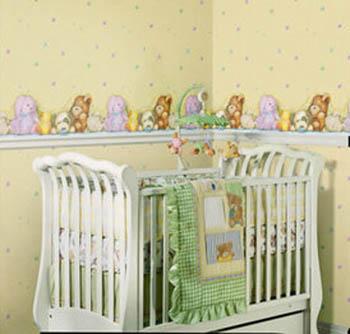 Cómo hacer su propia cenefa para la habitación del bebé | Dormitorio ...