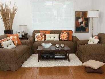 Cubiertas o fundas para tus sof s muebles decora ilumina for Sofas y sillones a juego