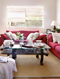 C mo distribuir el sof de acuerdo a la forma de tu sal n - Decorar salon cuadrado 20 metros ...