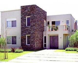 C mo tener una fachada m s atractiva pintura decora for Piedras para fachadas minimalistas