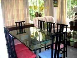 Mesas de vidrio para el comedor | Comedor - Decora Ilumina