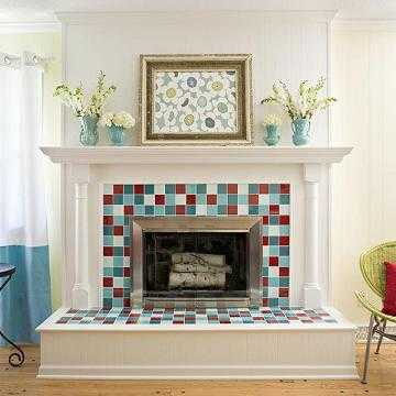 Ideas para decorar la chimenea sala decora ilumina - Chimeneas para decorar ...