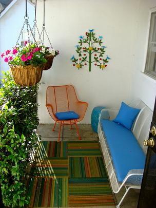 Ideas para decorar una peque a terraza urbana terraza - Decoracion de terrazas cerradas ...