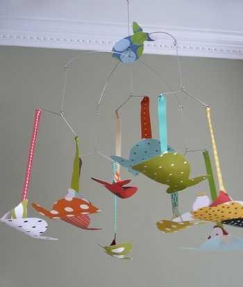 M viles para decorar el dormitorio de los ni os - Manualidades para decorar habitacion bebe ...