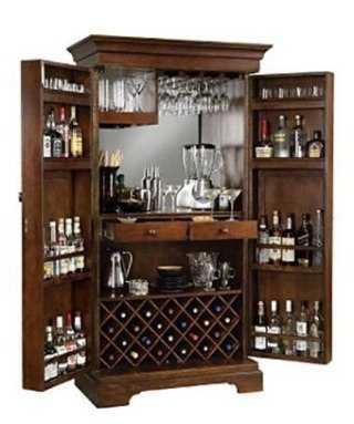 Modelos de un bar ntimo para el hogar tendencias for Modelos de muebles para bar