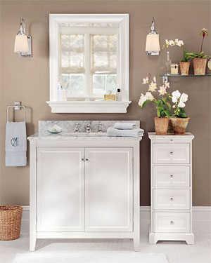 Muebles blancos en tus ambientes muebles decora ilumina - Muebles coloniales blancos ...