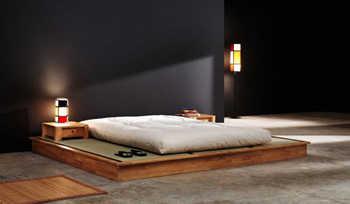 Decora el dormitorio con un fut n dormitorio decora - Base cama japonesa ...