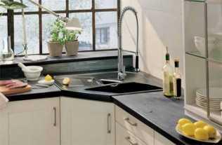 Lavaderos de esquina para la cocina cocina decora ilumina for Record lavaderos