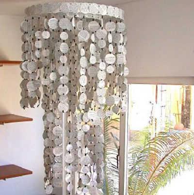 Lo nuevo en ecodise o l mparas de material reciclado for Decoracion del hogar con reciclaje