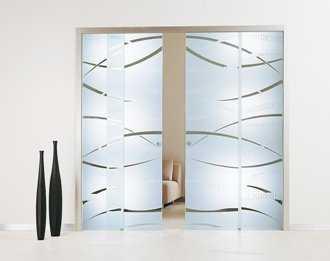 Puertas corredizas de vidrio tendencias decora ilumina for Puertas de metal con vidrio modernas