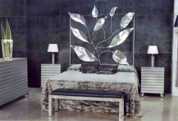 Cabeceras de cama decorativas dormitorio decora ilumina - Como decorar un cabecero de cama ...