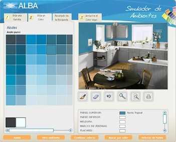 Ambiente sus espacios con la ayuda de simuladores tip - Simulador colores habitacion ...