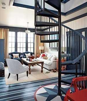 azul escaleraç