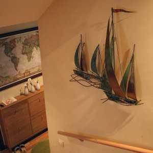 barco de adorno