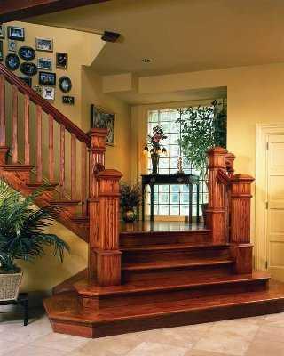 Tips para renovar tu escalera tip del dia decora ilumina for Escaleras de madera con descanso