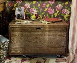 C mo decorar tu oficina al estilo vintage tendencias - Como decorar un baul de madera ...