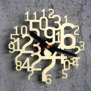 el siguiente diseo es mi favorito ya que tiene un diseo novedoso y sper creativo slo debemos colocarlo de manera estratgica para mostrar la hora