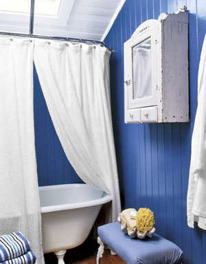 Dale a tu ba o lindos toques marinos en la decoraci n for Country living bathroom designs