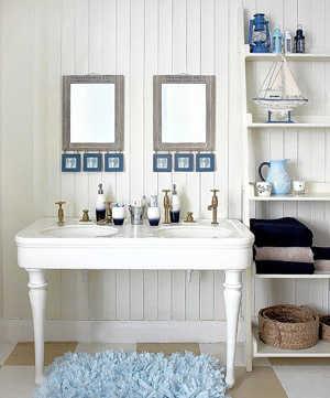 Dale a tu ba o lindos toques marinos en la decoraci n ba o decora ilumina Badezimmer dekoration meer