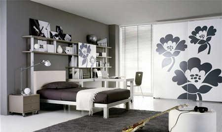Decoración de dormitorios para jóvenes estudiantes