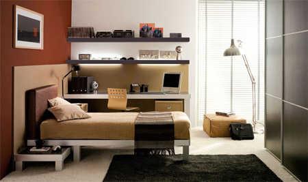 Decoraci n de dormitorios para j venes estudiantes for Decoracion de habitaciones para hombres