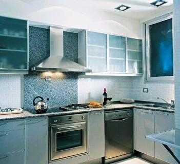 Ambientando una cocina met lica cocina decora ilumina - Muebles de cocina metalicos ...