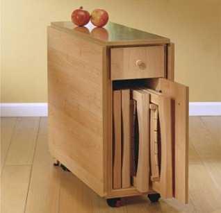 La versatilidad de las mesas plegables muebles decora for Mesas para estudiar