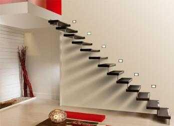 Iluminaci n decorativa para las escaleras tendencias - Iluminacion led escaleras ...
