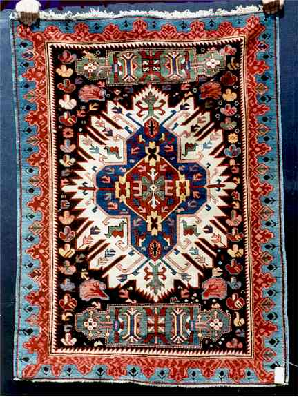 types of oriental rugs
