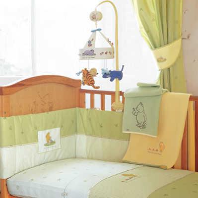 C mo decorar el cuarto del beb dormitorio decora ilumina for Cuarto winnie pooh