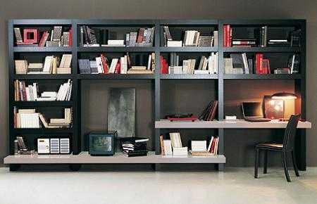 3 escritorio librero sala