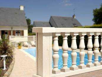 La elegancia de los balaustres tendencias decora ilumina - Elementos decorativos para jardin ...