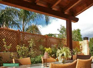 Cierres para terrazas y jardines jardin decora ilumina - Cierres de jardin ...