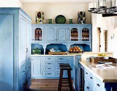Ideas Para Decorar Tu Cocina En Azul Cocina Decora Ilumina