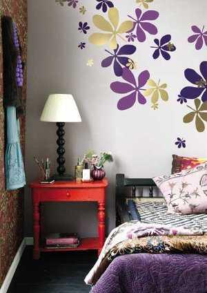 La moda de los wall stickers pegatinas de pared for Decoracion de cuartos para senoritas