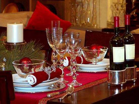 Estilos para decorar la mesa de navidad navidad decora ilumina - Adornos para la mesa de navidad ...