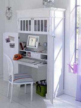 Ideas para ubicar el ordenador tip del dia decora ilumina for Muebles para ordenador